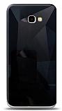 Eiroo Prizma Samsung Galaxy J4 Plus Siyah Rubber Kılıf