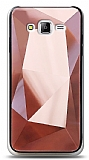 Eiroo Prizma Samsung Galaxy J7 / Galaxy J7 Core Rose Gold Rubber Kılıf