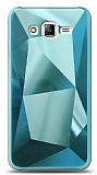 Eiroo Prizma Samsung Galaxy J7 / Galaxy J7 Core Turkuaz Rubber Kılıf