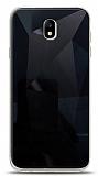 Eiroo Prizma Samsung Galaxy J7 Pro 2017 Siyah Rubber Kılıf