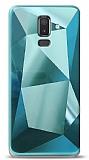 Eiroo Prizma Samsung Galaxy J8 Turkuaz Rubber Kılıf