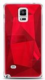 Eiroo Prizma Samsung Galaxy Note 4 Kırmızı Rubber Kılıf