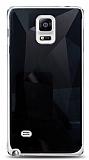 Eiroo Prizma Samsung Galaxy Note 4 Siyah Rubber Kılıf