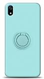 Eiroo Ring Color Xiaomi Redmi 7A Yüzük Tutuculu Turkuaz Silikon Kılıf