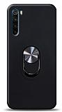 Eiroo Ring Fold Xiaomi Redmi Note 8T Standlı Ultra Koruma Siyah Kılıf