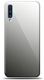 Eiroo Samsung Galaxy A70 Silikon Kenarlı Aynalı Siyah Kılıf