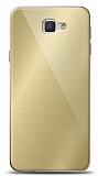 Eiroo Samsung Galaxy J7 Prime / J7 Prime 2 Silikon Kenarlı Aynalı Gold Kılıf