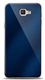 Eiroo Samsung Galaxy J7 Prime / J7 Prime 2 Silikon Kenarlı Aynalı Lacivert Kılıf