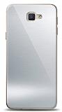 Eiroo Samsung Galaxy J7 Prime / J7 Prime 2 Silikon Kenarlı Aynalı Silver Kılıf