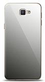 Eiroo Samsung Galaxy J7 Prime / J7 Prime 2 Silikon Kenarlı Aynalı Siyah Kılıf