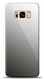 Eiroo Samsung Galaxy S8 Silikon Kenarlı Aynalı Siyah Kılıf