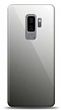 Eiroo Samsung Galaxy S9 Plus Silikon Kenarlı Aynalı Siyah Kılıf