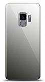 Eiroo Samsung Galaxy S9 Silikon Kenarlı Aynalı Siyah Kılıf