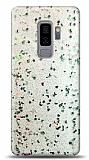 Eiroo Sparkle Samsung Galaxy S9 Plus Işıltılı Silver Silikon Kılıf