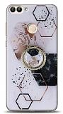 Eiroo Starry Huawei P Smart Mosaic Silikon Kılıf