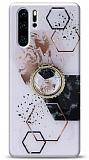 Eiroo Starry Huawei P30 Pro Mosaic Silikon Kılıf