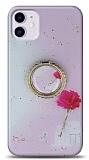 Eiroo Starry iPhone 11 Çiçekli Silikon Kılıf