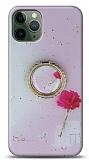 Eiroo Starry iPhone 11 Pro Max Çiçekli Silikon Kılıf