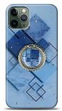 Eiroo Starry iPhone 11 Pro Max Square Silikon Kılıf