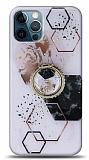 Eiroo Starry iPhone 12 / iPhone 12 Pro 6.1 inç Mosaic Silikon Kılıf