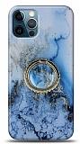 Eiroo Starry iPhone 12 / iPhone 12 Pro 6.1 inç Ocean Silikon Kılıf