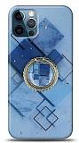 Eiroo Starry iPhone 12 / iPhone 12 Pro 6.1 inç Square Silikon Kılıf