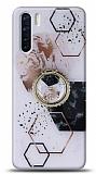 Eiroo Starry Oppo A91 Mosaic Silikon Kılıf