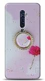Eiroo Starry Oppo Reno2 Z Çiçekli Silikon Kılıf