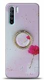 Eiroo Starry Oppo Reno3 Çiçekli Silikon Kılıf