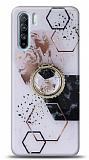 Eiroo Starry Oppo Reno3 Mosaic Silikon Kılıf
