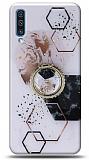 Eiroo Starry Samsung Galaxy A30s Mosaic Silikon Kılıf