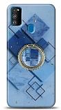 Eiroo Starry Samsung Galaxy M31 Square Silikon Kılıf
