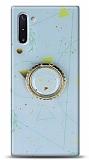 Eiroo Starry Samsung Galaxy Note 10 Funny Silikon Kılıf