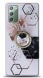 Eiroo Starry Samsung Galaxy Note 20 Mosaic Silikon Kılıf