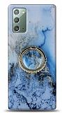 Eiroo Starry Samsung Galaxy Note 20 Ocean Silikon Kılıf