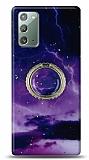 Eiroo Starry Samsung Galaxy Note 20 Space Silikon Kılıf