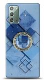 Eiroo Starry Samsung Galaxy Note 20 Square Silikon Kılıf