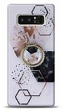 Eiroo Starry Samsung Galaxy Note 8 Mosaic Silikon Kılıf