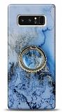 Eiroo Starry Samsung Galaxy Note 8 Ocean Silikon Kılıf