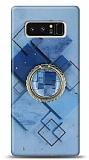 Eiroo Starry Samsung Galaxy Note 8 Square Silikon Kılıf