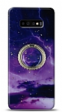 Eiroo Starry Samsung Galaxy S10 Plus Space Silikon Kılıf