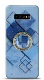 Eiroo Starry Samsung Galaxy S10 Plus Square Silikon Kılıf