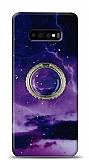 Eiroo Starry Samsung Galaxy S10 Space Silikon Kılıf