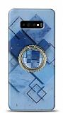 Eiroo Starry Samsung Galaxy S10 Square Silikon Kılıf