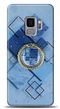 Eiroo Starry Samsung Galaxy S9 Square Silikon Kılıf