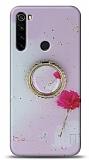 Eiroo Starry Xiaomi Redmi Note 8 Çiçekli Silikon Kılıf