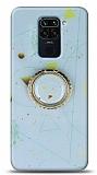 Eiroo Starry Xiaomi Redmi Note 9 Funny Silikon Kılıf