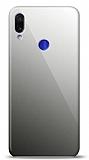 Eiroo Xiaomi Redmi Note 7 Silikon Kenarlı Aynalı Siyah Kılıf
