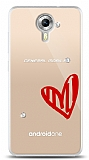 General Mobile Android One 3 Taş Love Kılıf
