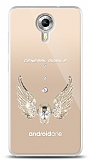 General Mobile Android One Angel Death Taşlı Kılıf